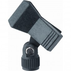 Quik Lok MP/850 Spring-loaded mic clip for wired & wireless mics