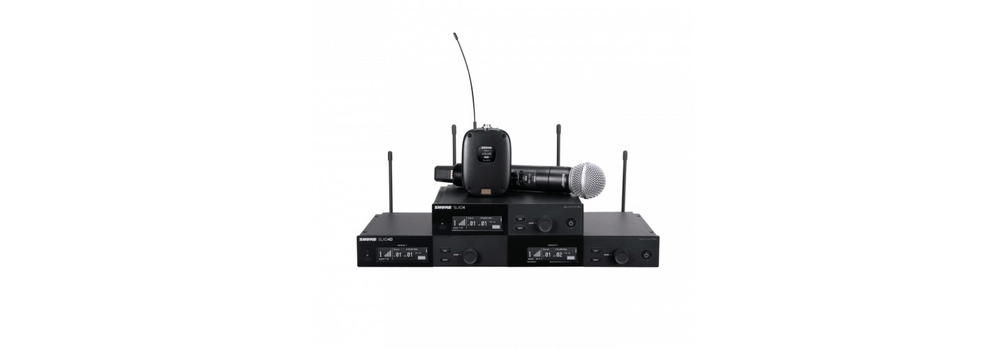 Coming Soon! New Shure SLX-D Digital Wireless System
